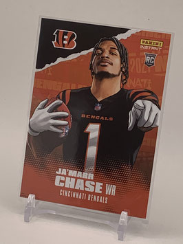 Ja'Marr Chase (Bengals) 2021 Panini Instant Illustration Series #IS-JC