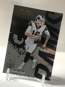 Jared Goff (Rams) 2018 Absolute #52