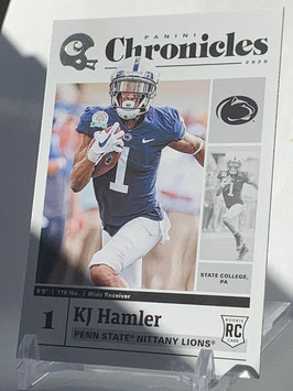 KJ Hamler (Penn State/ Broncos) 2020 Chronicles Draft Picks #9