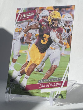 Eno Benjamin (Arizona State/ Cardinals) 2020 Chronicles Draft Picks Prestige #10