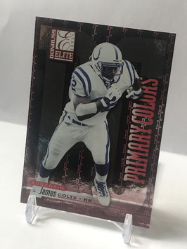 Edgerrin James (Colts) 2001 Donruss Elite Primary Colors Red #PC-2