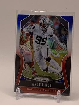 Arden Key (Raiders) 2019 Prizm Red/White/Blue Prizm #230
