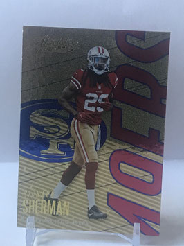 Richard Sherman (49ers) 2018 Panini Absolute Spectrum Blue #88