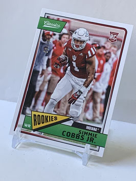 Simmie Cobbs Jr. (Indiana/ Redskins) 2018 Classics Green Back #259