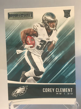 Corey Clement (Eagles) 2017 Panini Rookies & Stars #236