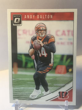 Andy Dalton (Bengals) 2018 Donruss Optic #21