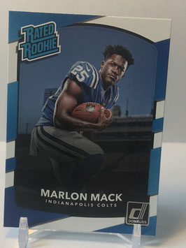 Marlon Mack (Colts) 2017 Donruss Rated Rookie #302