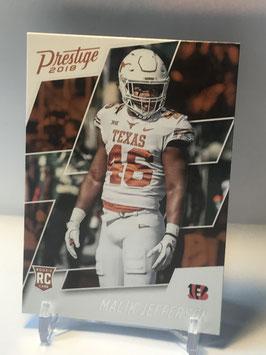 Malik Jefferson (Texas/ Bengals) 2018 Prestige #294