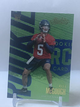 Alex McGough (Seahawks) 2018 Panini Absolute Spectrum Blue #10