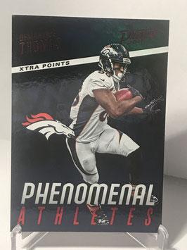 Demaryius Thomas (Broncos) 2017 Panini Prestige Phenomenal Athletes Xtra Points Blue #16