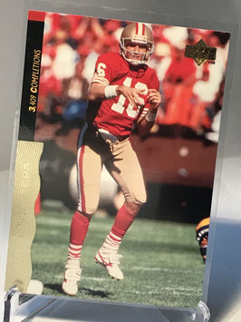 Joe Montana (49ers) 1995 Upper Deck Joe Montana Box Set #39