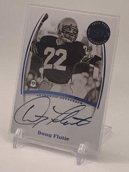 Doug Flutie (Boston College/ Chargers) 2007 Press Pass Legends Autograph #NNo