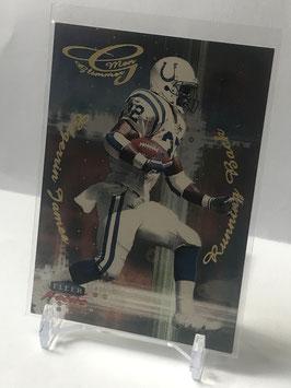 Edgerrin James (Colts) 1999 Fleer Focus Glimmer Men #9R