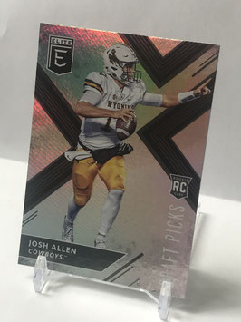 Josh Allen (Wyoming/ Bills) 2018 Panini Elite Draft Picks Variation #103