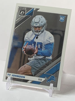 Ty Johnson (Lions) 2019 Donruss Optic #145