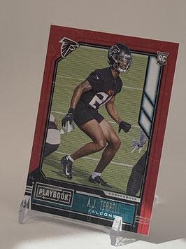 AJ Terrell (Falcons) 2020 Playbook #171