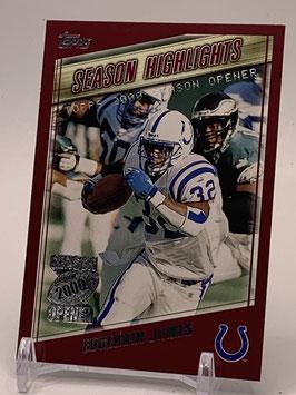 Edgerrin James (Colts) 2000 Topps Season Opener #180