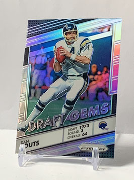 Dan Fouts (Chargers) 2016 Prizm Draft Gems Silver Prizm #16