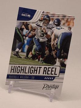 Russell Wilson (Seahawks) 2020 Prestige Highlight Reel #HR-RW