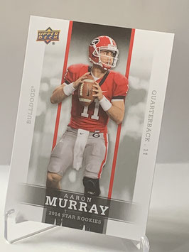 Aaron Murray (Georgia/ Chiefs) 2014 Upper Deck Star Rookies #35