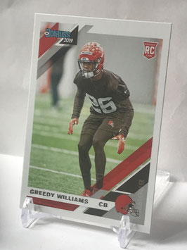 Greedy Williams (Browns) 2019 Donruss #272