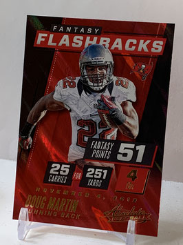Doug Martin (Buccaneers) 2017 Absolute Fantasy Flashbacks #4