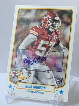 Nico Johnson (Chiefs) 2013 Topps Magic Autograph #8