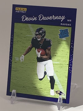 Devin DuVernay (Ravens) 2020 Panini Instant Rated Rookie #32