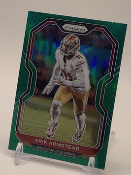 Arik Armstead (49ers) 2020 Prizm Green Prizm #288