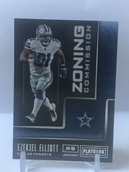 Ezekiel Elliott (Cowboys) 2018 Playbook Zoning Commision #13