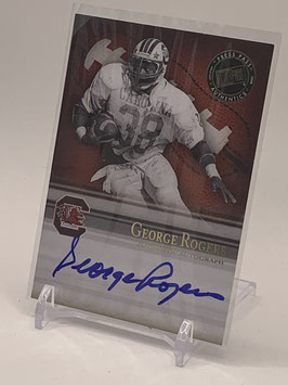 George Rogers (North Carolina/ Redskins) 2008 Press Pass Legends Bowl Edition Semester Signatures Autograph #SS-GR