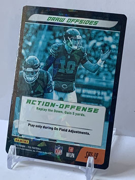 Action Offense: Mitchell Trubisky (Bears) 2019 Panini Five TCG FOIL #S81