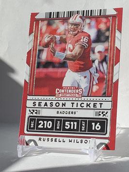 Russell Wilson (Wisconsin/ Seahawks) 2020 Contenders Draft Picks #87