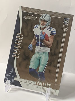 Tony Pollard (Cowboys) 2019 Absolute #139