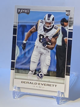 Gerald Everett (Rams) 2017 Playoff #267