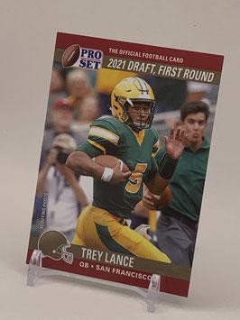 Trey Lance (NDSU/ 49ers) 2021 Leaf Pro Set Draft Day #PSDD3