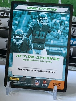 Action Offense: Mitchell Trubisky (Bears) 2019 Panini Five TCG #S81