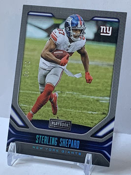 Sterling Shepard (Giants) 2019 Playbook Platinum #62