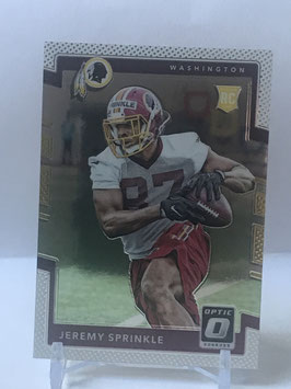 Jeremy Sprinkle (Redskins) 2016 Donruss Optic #115