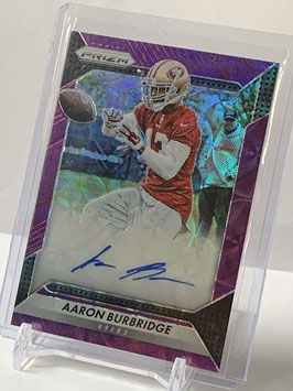Aaron Burbridge (49ers) 2016 Prizm Rookie Autograph Purple Scope #RA-ABG