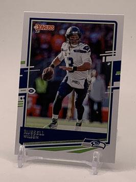 Russell Wilson (Seahawks) 2020 Donruss #222
