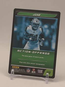 Action Offense: Ezekiel Elliott (Cowboys) 2020 Panini Five TCG #U180