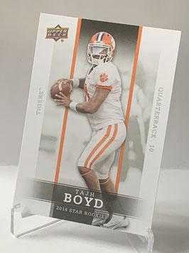 Tajh Boyd (Clemson/ Jets) 2014 Upper Deck Star Rookies #8