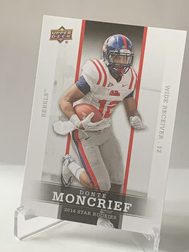 Donte Moncrief (Ole Miss/ Colts) 2014 Upper Deck Star Rookies #9