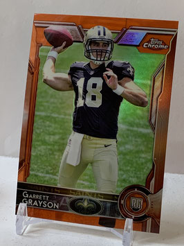 Garrett Grayson (Saints) 2015 Topps Chrome Orange Refractor #151