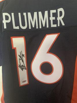 Jake Plummer (Broncos) Replica Jersey mit Original-Autogramm