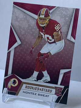 Montez Sweat (Redskins) 2019 Rookies & Stars #192