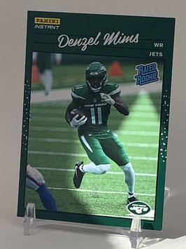 Denzel Mims (Jets) 2020 Panini Instant Rated Rookie #RR25