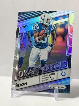 TY Hilton (Colts) 2016 Prizm Draft Gems Silver Prizm #15