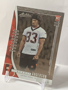 Rodney Anderson (Bengals) 2019 Absolute #149